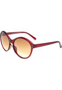 Óculos Ray Flector Buckingham - Feminino-Vinho