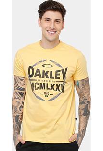 Camiseta Oakley Mod Hexagon Tee Masculina - Masculino