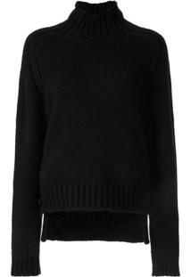 Nº21 Turtle Neck Jumper - Preto