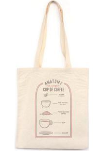 Anatomy Of The Perfect Coffee - Bolsa De Lona-Off White-U
