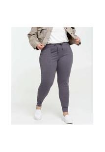 Calça Feminina Skinny Canelada Plus Size
