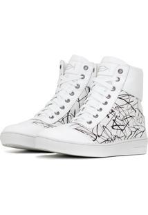 Sneaker K3 Fitness Sassy Branco