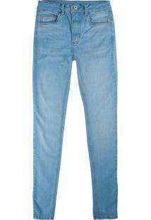 Calça Azul Claro Skinny Flex Jeans Feminina