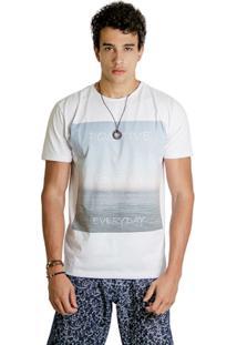 T-Shirt Wosmock Snow - Feminino-Branco