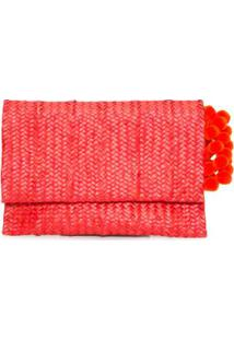 Amaryllis Red Clutch Nannacay