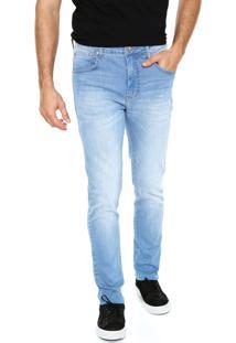 Calça Jeans Sommer Delavê Azul