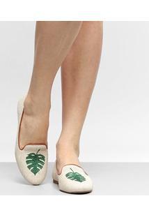 Mocassim Shoestock Slipper Tropical Feminino - Feminino