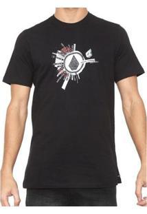 Camiseta Volcom Silk Slim Radiate - Masculino