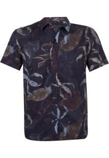 Camisa John John Autumn Algodão Estampado Masculina (Estampado, P)