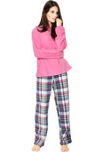 Pijama Any Any Soft Lilly Rosa