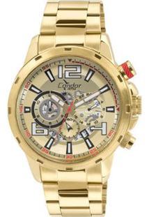 Relógio Condor Masculino Civic - Covd33Az/4D Covd33Az/4D - Masculino-Dourado