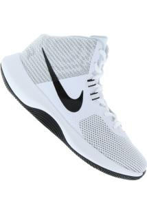 Tênis Nike Air Precision - Masculino - Branco/Cinza