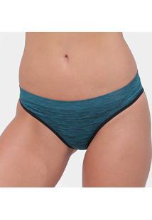 Calcinha Liz Sem Costura 70222 - Feminino-Azul Escuro