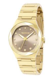 70e6219e91f Off Premium. Relógio Feminino Technos Analógico Premium Crystal