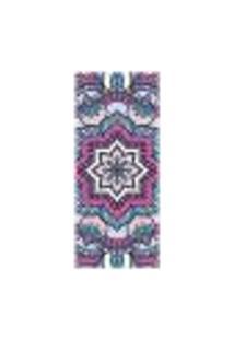 Adesivo Decorativo De Porta - Mandala - 2378Cnpt