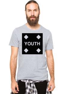 Camiseta Rgx Youth Cinza