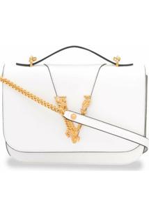 Versace Bolsa Tiracolo Virtus - Branco