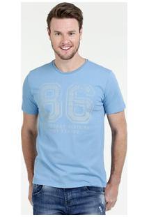 Camiseta Masculina Estampa Frontal Manga Curta Costa Rica