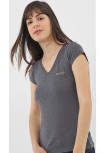 Camiseta Polo Wear Flame Grafite - Kanui
