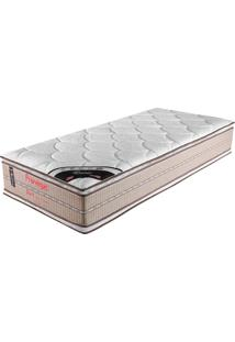 Colchão Solteiro 188X088X38 Ouro Pillow Top Duplo -Prorelax - Bege