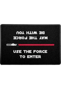 Capacho Use The Force Vermelho 0,40X0,60M - Beek