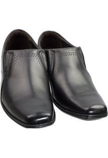 Sapato Social Pegada Mestiço 122314-01 - Masculino-Preto
