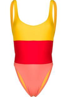 Sian Swimwear Maiô Laurie - Amarelo