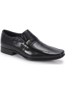 Sapato Social Masculino Jota Pe Air Quartz - Preto