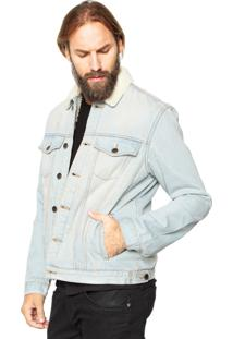 Jaqueta Jeans John John Bedale Pelo Azul