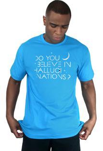 Camiseta 182Life Hallucinations Turquesa