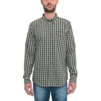 d57180ca8 Camisa Manga Longa Plaid Coolmax