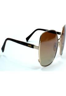 Óculos De Sol Jf Sun Luna - Rajado - Marrom Degradê - Kanui