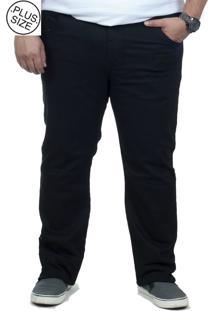 Calça Jeans Plus Size Bigshirts Preta