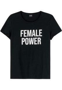 Blusa Preta Female Power