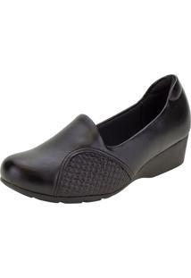 Sapato Feminino Anabela Modare - 7014229 Preto 34