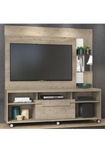 Estante Para Tv 1 Porta Marcos 642022 Rustico - Madetec