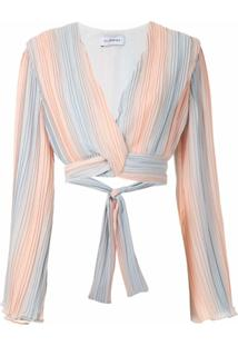 Olympiah Top Cropped Camelia - Colorido