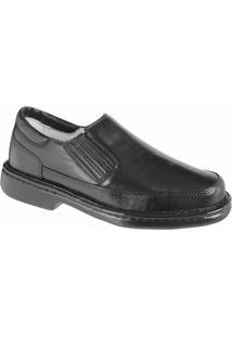 Sapato Confort Ranster Tradicional - Masculino-Preto