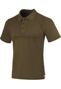 Camisa Polo Invictus Control Marrom Apache Marrom
