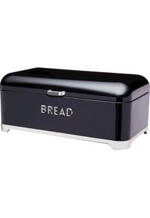 Porta Pão 34X21X25Cm Preto Kitchen Craft
