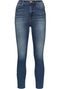 Frame Calça Jeans Cigarette Ali - Azul