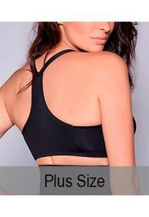 Sutiã Sustentação Nadador Mondress (685Re) Plus Size