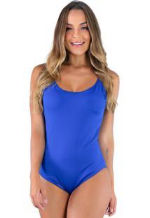 Body Mvb Modas Bojo Verão Alcinha Azul