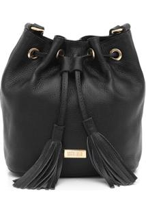 Bolsa Santa Lolla Floater New Camel Preto