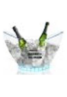 Champanheira Com Led Transparente Acrilico Personalizada Para Live
