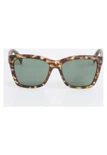 Óculos De Sol Feminino Quadrado Estampado Marisa