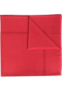 Givenchy Cachecol Com Logo Corrido - Vermelho