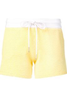 adf2a97ba R$ 3243,00. Farfetch Thom Browne Bermuda Seersucker - Amarelo