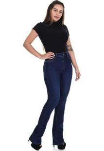 Calça Jeans Sawary Flare Feminina - Feminino
