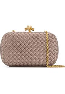 Bottega Veneta Clutch Chain Knot - Neutro